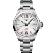 Longines Men's Conquest  V.H.P. 41mm Silver Dial Watch L37164766