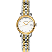 Longines Women's Flagship 26mm Automatic Stainless Steel/PVD Watch L42743227