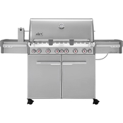 Weber Summit S670 Natural Gas Grill Stainless Steel