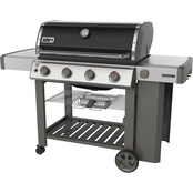 Weber Genesis II E-410 Propane Gas Grill with Built In Thermometer