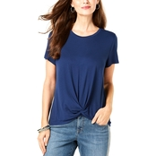 Style and Co. Twist Front Top