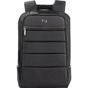 Solo Transit 15.6 in. Backpack Black with Gold