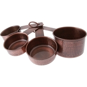 Thirstystone Antique Copper Finish 4 pc. Measuring Cup Set