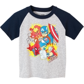 Extreme Concepts Toddler Boys Super Heroes Tee
