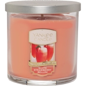 Yankee Candle White Strawberry Bellini Regular Tumbler Candle