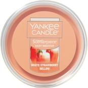 Yankee Candle White Strawberry Bellini Melt Cup