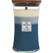 WoodWick Holiday Beachfront Cottage Large Hourglass Trilogy Candle