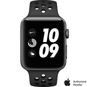 Apple Watch Nike+ Series 3 GPS Aluminum Case with Anthracite/Black Nike Sport Band