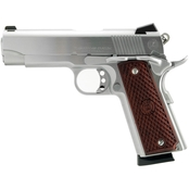 American Classic Commander 9MM 4.25 in. Barrel 8 Rds Pistol Hard Chrome