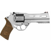 Chiappa Firearms Rhino 357 Mag 5 in. Barrel 6 Rds 3-Moon Clips Revolver Nickel