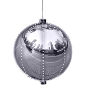 Christmas Ball Decor with LED Lights