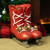 Alpine Ice Skate Planter