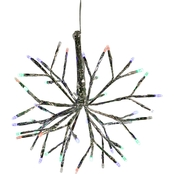 Alpine Christmas Twig Ornament with LED Lights
