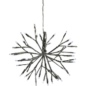 Alpine Christmas White Twig Ornament Light