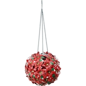 Solar Christmas Hanging Flower