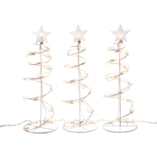 Alpine Spiral Christmas Tree Decoration