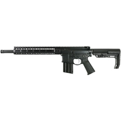2A Armament Balios Lite 22 LR 16.5 in. Barrel 15 Rnd Rifle Black