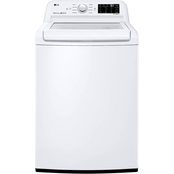 LG ENERGY STAR 4.5 cu. ft. Top Load Washer with Rear Control