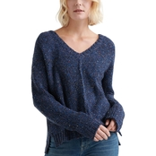 Lucky Brand Multicolor V-Neck Sweater