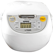 Tiger Micom Rice Cooker with tacook Cooking Plate
