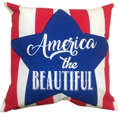 Homewear Americana Decorative Pillow