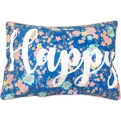 Homewear Happy Decorative Pillow