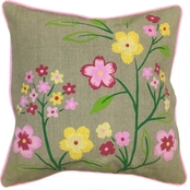 Homewear Brusa Floral Decorative Pillow