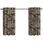 Realtree Edge 24 x 29 in. Tier Curtain Pair