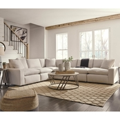 Signature Design by Ashley Savesto Collection Modular Sectional