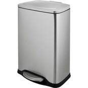 Simply Perfect Stainless Steel Rectangular Trash Bin, 45L