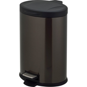 Simply Perfect Stainless Steel Oval Trash Can, 12L