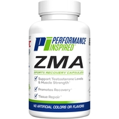 Performance Inspired Zinc Plus Sports Recovery Capsules 90 Count