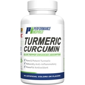 Performance Inspired Turmeric Curcumin Capsules 60 Ct.