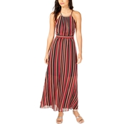 I.N.C. International Concepts Halter Stripe Maxi Dress