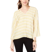 I.N.C. International Concepts Volume Sleeve Blouse