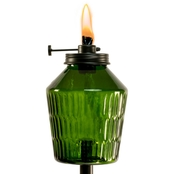 TIKI 64 in. Adjustable Flame Glass Penta Torch
