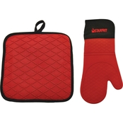 Starfrit Silicone Oven Glove with Pot Holder/Trivet
