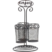 Mikasa Gourmet Basics Chit Chat Enjoy Utensil Holder