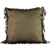 Realtree Fringe Decoratative 18 x 18 in. Pillow
