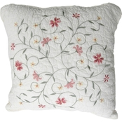 Nostalgia Home 18 x 18 in. Amber Square Pillow