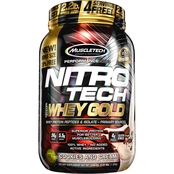 MuscleTech Nitro Tech 100% Whey Gold Cookies and Cream 2.2 lb.