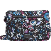 Vera Bradley Bramble RFID Little Hipster Bag