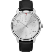 Timex Men's Classic Leather Strap 39mm Watch TW2R86800