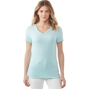 JW Basic V Neck Top