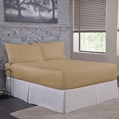 Bed Tite Absolutely Fitting Microfiber Fawn Sheet Set