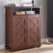 Furniture of America Shoe Cabinet