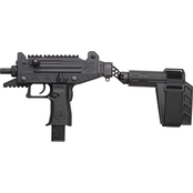 IWI US Inc Uzi Pro 9MM 4.5 in. Barrel 25 Rds 2-Mags Pistol Black with Brace