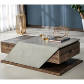 Furniture of America Meggie Coffee Table