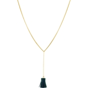 Panacea Mini Tassel Y Necklace