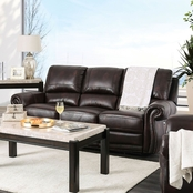 Edmore Leather Power Assist Sofa